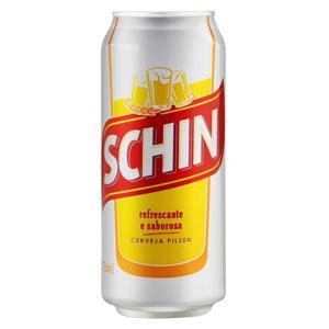 Cerveja Pilsen Schin Lata 473ml