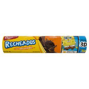 Biscoito Recheio Brigadeiro Bauducco Pacote 140g