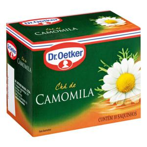 Chá de Evas de Camomila DR.OETKER 10un 10g