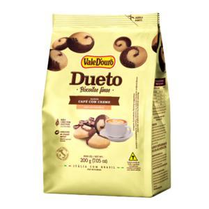 Biscoito Fino Dueto 200G Vale Douro Café/Creme