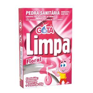 Pedra Sanitária GOTA LIMPA Floral 35G