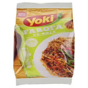 Farofa de Mandioca Pronta Soja Yoki Pacote 250g