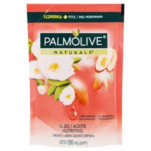 Sabonete Líquido Óleo Nutritivo Palmolive Naturals Sachê 200ml Refil