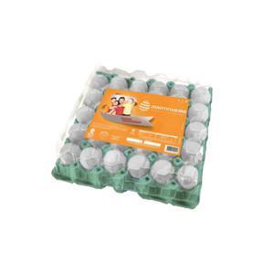 Ovos Brancos Grande Bandeja 30 Unidades MANTIQUEIRA