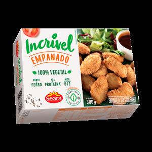 Empanado 100% Vegetal Seara Incrível 300G