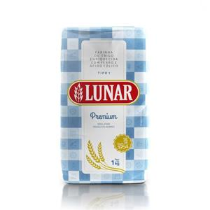 Farinha de Trigo LUNAR Premium 1Kg