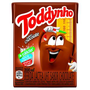 Bebida Láctea UHT Chocolate Toddynho 200ml