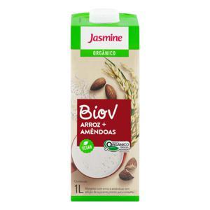 Bebida à Base de Arroz e Amêndoa Orgânica Jasmine Biov Caixa 1l