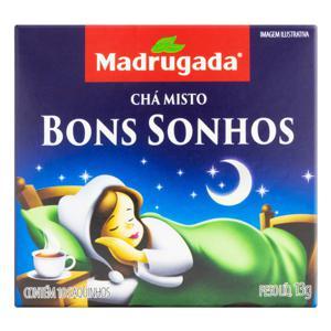 Chá Bons Sonhos Madrugada Caixa 13g 10 Unidades