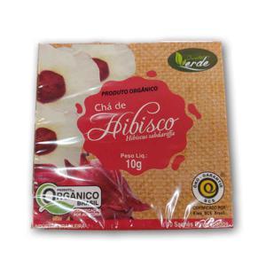 Chá de Hibiscus - 10 sachês (10g)