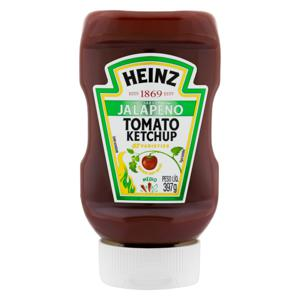 Ketchup Jalapeño Heinz Squeeze 397g
