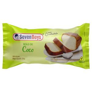 Bolo Coco Seven Boys Pacote 250g