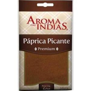 Páprica Picante AROMA DAS ÍNDIAS 60g