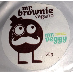 Brownie Mr Veggy Vegano 60G