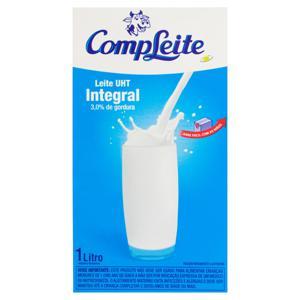 Leite UHT Integral CompLeite Caixa 1l