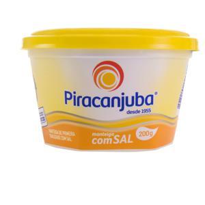 Manteiga de Primeira Qualidade com Sal Piracanjuba Pote 200g