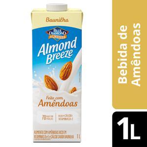 Bebida de Amêndoas Almond Breeze Baunilha 1L