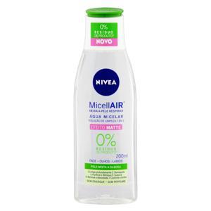 Água Micelar Efeito Matte 7 em 1 sem Perfume Nivea Micellair Frasco 200ml