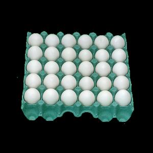 Ovos Brancos  Redovo Bandeja com 30 Unidades