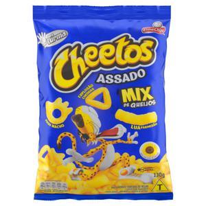 Salgadinho de Milho Sortido Mix de Queijos Elma Chips Cheetos Pacote 130g