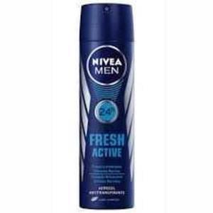 Desodorante Aerosol NIVEA Fresh Masculino 150ml