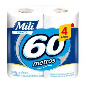Papel Higiênico Neutro MILI Bianco 60M