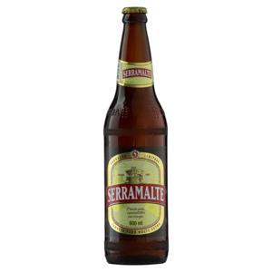 Cerveja American Lager Premium Puro Malte Serramalte Garrafa 600ml