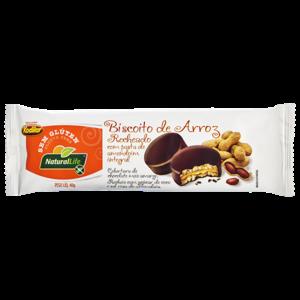 Biscoito De Arroz Recheado Natural Life S/Glúten Original 40G