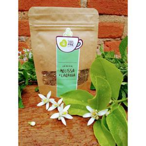 Chá orgânico Melissa & Laranja - 15g