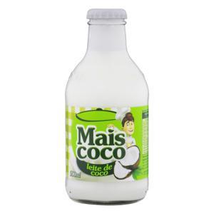 Leite de Coco Mais Coco Vidro 200ml