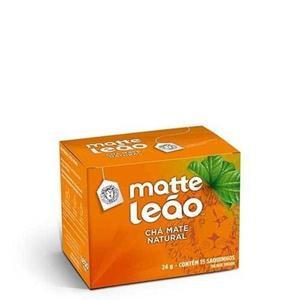 Chá Matte LEÃO Natural 24g