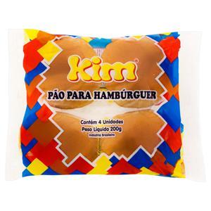 Pão para Hambúrguer Kim Pacote 200g