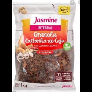 Granola Jasmine 1kg Integral Castanha de Cajú