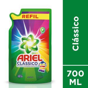 Lava-Roupas Liquido Ariel Classico 700Ml Refil