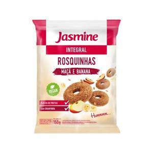 Rosquinhas Jasmine Banana e Maçã 150G