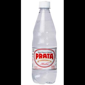 Água Mineral Gasosa Prata 510ml