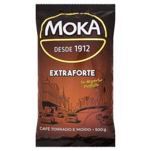 Café Torrado e Moído Extraforte Moka Pacote 500g