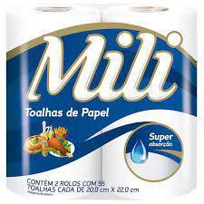 Toalha De Papel MILI 12X2
