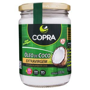 Óleo de Coco Extra Virgem Copra Vidro 500ml