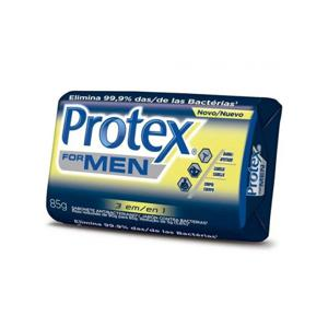 Sabonete Antibacteriano 3 em 1 Protex 85gr For Men