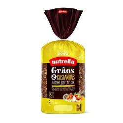 Pão de Forma Vitta NUTRELLA Grãos e Castanha 450g