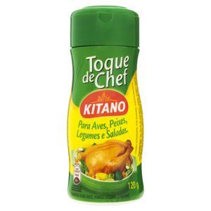 Tempero para Aves, Peixes, Legumes e Saladas Toque de Chef Kitano 120g