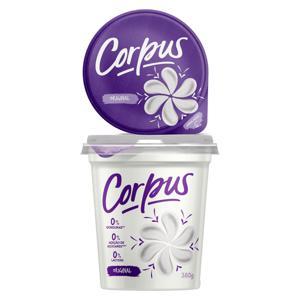 Iogurte Desnatado Original Zero Lactose Corpus Pote 380g