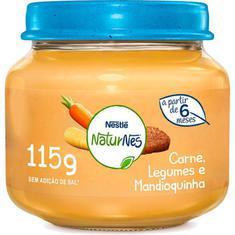 Alimento Infantil 115G Nestlé Carne, Legumes e Mandioquinha