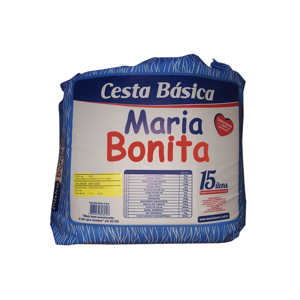 CESTA BáSICA MARIA BONITA 15 ITENS