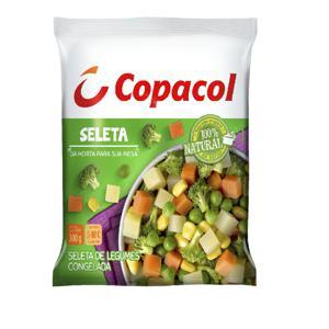 Seleta De Legumes Copacol Congelada 300G Pacote