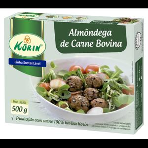 Almôndega Bovina KORIN 500g