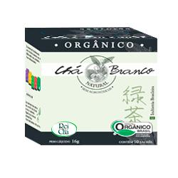 Chá Branco Orgânico 10 Sachês