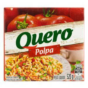 Polpa de Tomate Quero Caixa 520g
