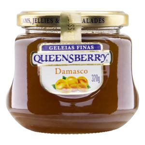 Geleia Damasco Queensberry Classic Vidro 320g